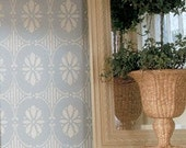 Wall Pattern Stencil Swedish Floral Allover Stencil for Wall Decor and More - royaldesignstencils