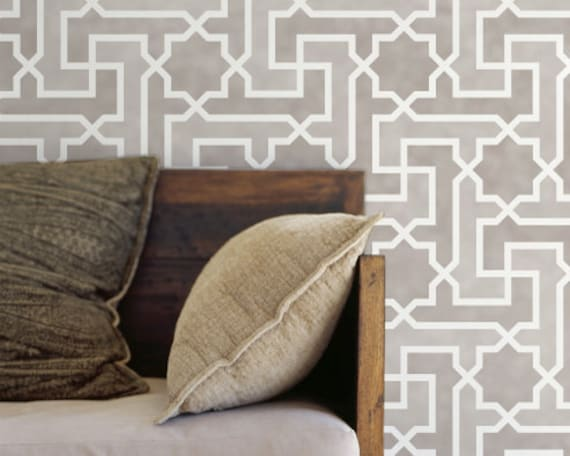 our moroccan wall stencils - photo #37