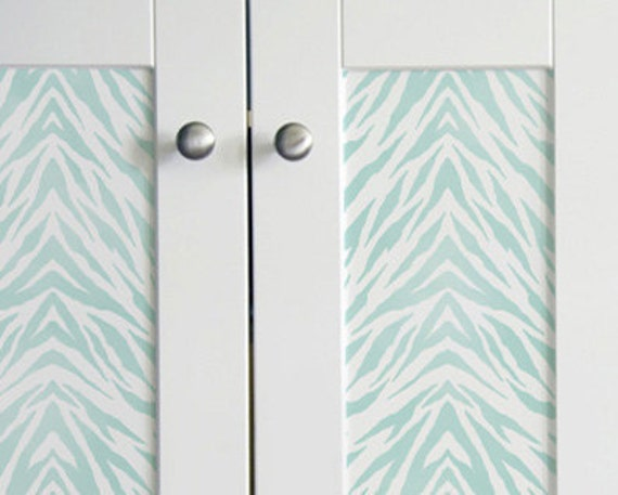 Furniture & Wall Stencil Pattern Zebra Stripes Border or Allover Stencil for DIY Wall Decor