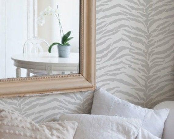 Zebra Streifen Schablone Streifen Allover Schablone