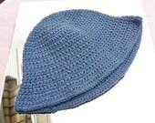 Denim Blue Child Sun Hat 2-4 yrs