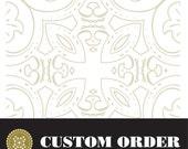 Custom order for Colettecolor