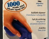 Vario Tab Dispenser 1000 double sided adhesive square tabs