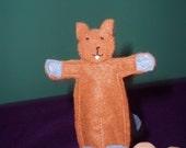 Busy Beaver Finger Puppet