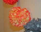 Spice Died Tissue Pom Garland