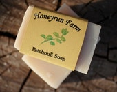 Patchouli Soap - made with honey and beeswax