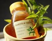 Lemon Verbena Infused Honey - 8 ounce jar