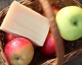Apple Jack Soap - natural handcrafted soap made with honey and beeswax