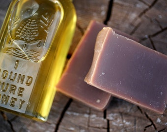 Warm Vanilla Soap - made with honey and beeswax
