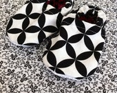 PDF Pattern - Cloth Baby Shoes - 0-18 months