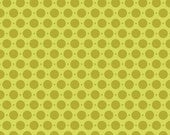 SALE Sweet Nothings Green Sweet Dots by Zoe Pearn Designs for Riley Blake, 1 yard
