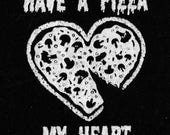 Pizza My Heart Valentines Patch