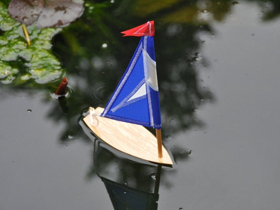 Minature Working Custom Sailboat