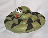 Sale Price Reduced Kids Felt Plush Pretend Woodland Snake