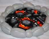Felt Flame & Hot Coals For Cooking