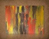 FREE SHIPPING Coupon - Huge SaleOriginal Mixed Media Abstract Painting By Jenny Miller