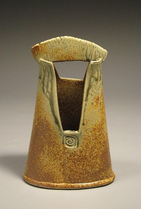 Ceramic Handled Vase