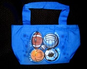 Airbrushed Lunch Totes