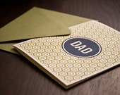 Dad Letterpressed Card