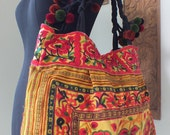 Ethnic handmade bag vintage style fabric-from thailand