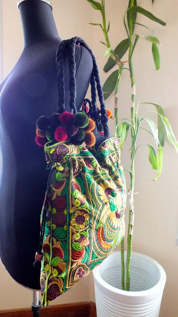 Ethnic handmade bag vintage style work beautiful,Boho Bags, Bohemian Handbags, Unique Bag