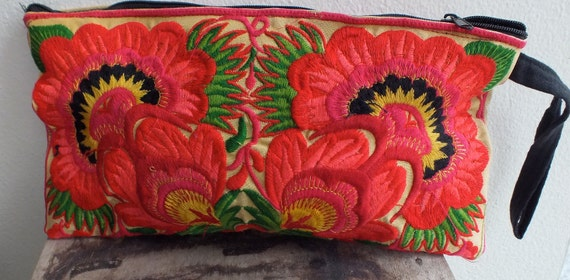 Ethnic Vintage style Hmong Tribe purse Bag handmade bags from Asia,  Boho and totes