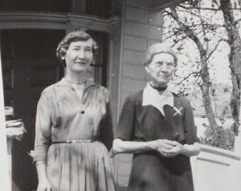 Vintage Photo, Grandma and Grandma 1950's