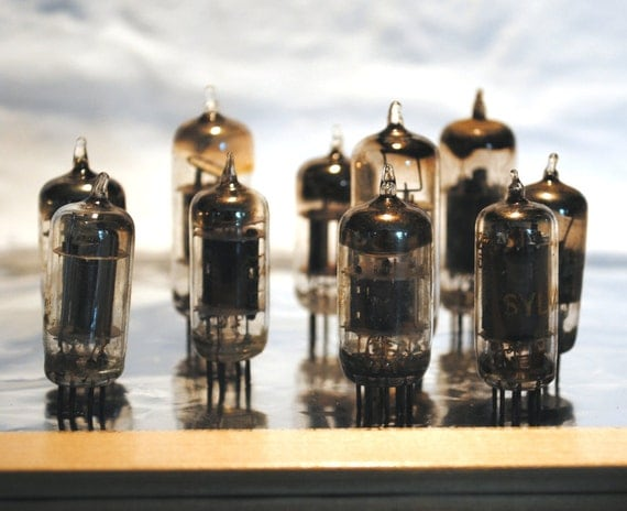 Steampunk Vintage Vacuum Tubes Supplies BL055 Altered Art