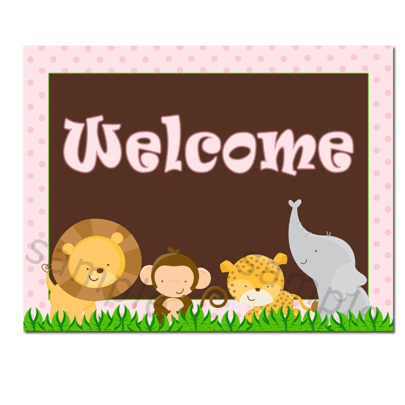 It's just a photo of Sweet Free Printable Welcome Sign