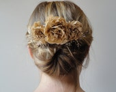 Rustic Bridal Hairpiece