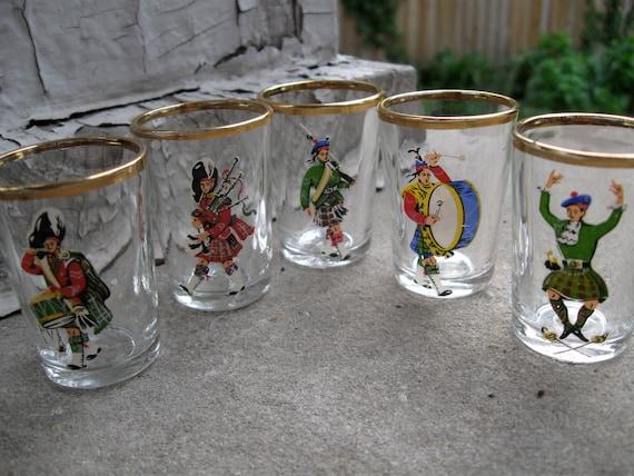 Irish shot glass set Made in France