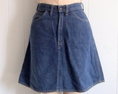 60s Levi's for Gals Skirt, Size Small