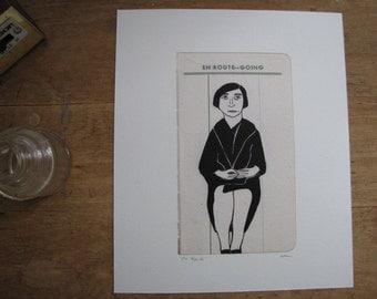 En Route - Art Print