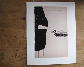 Fried Potatoes - Art Print