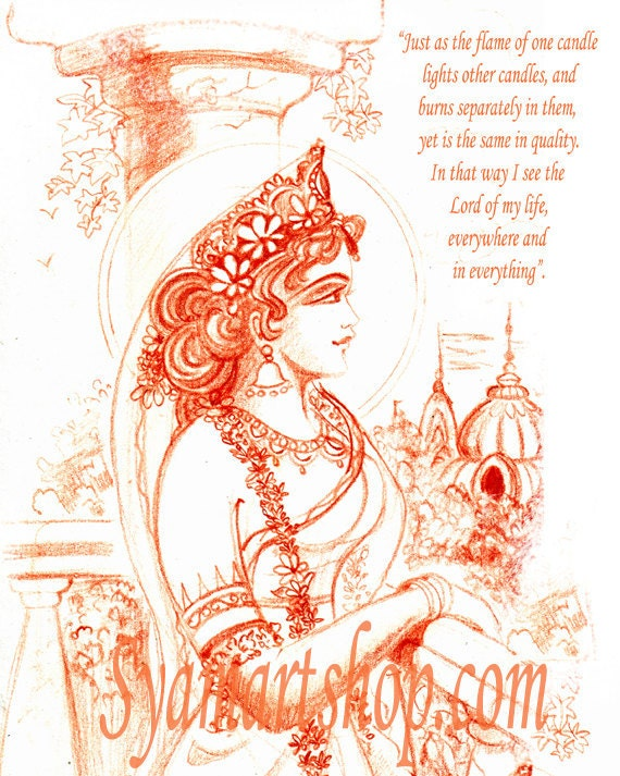 Art, terracotta, pencil drawing, Indian princess, love letter, inspirational poem, note cards, line sketch, thoughts of the princess, vedic
