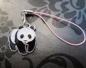 panda bear bag or phone charm