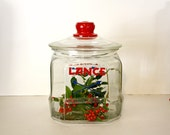 Lance Cracker Jar With Toms Peanuts Glass Lid By TogetherAgainVintage