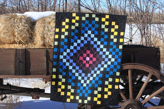 Art Quilt, Shadows Within