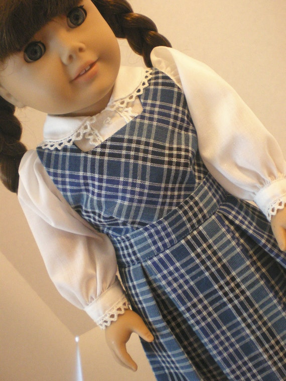 Molly Blouse, Jumper,  American Girl Doll Clothes