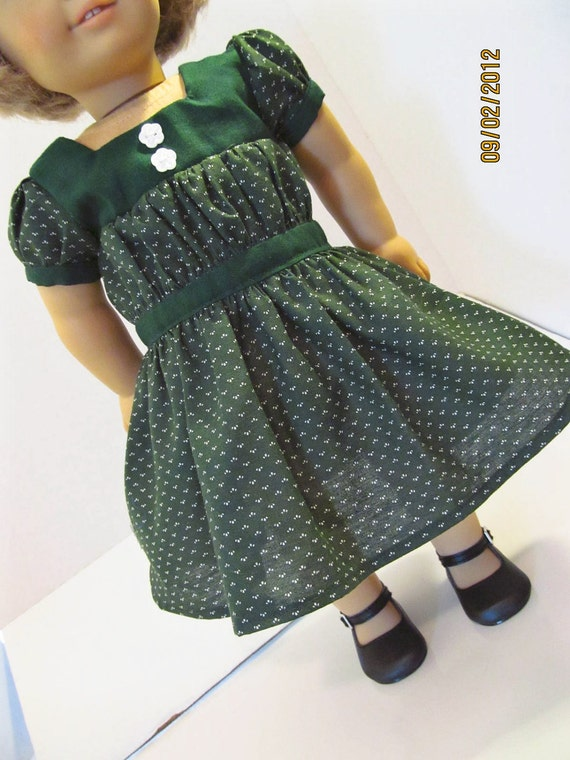 Vintage Style  Kit  Dress,  American Girl Doll Clothes