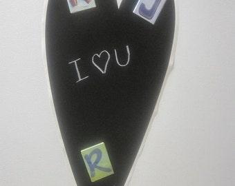 Heart Vinyl Chalkboard