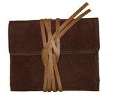 iPad 2 Vintage Inspired Case in Dark Walnut Brown