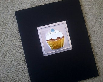Upcycled Soda Pop Can Cupcakes Set of 4 Wall Art