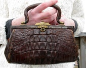 The 1930s Crocodile Handbag