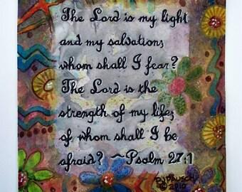 Scripture Print, Christian Art Scripture, Christian Art Bible Verse, Christian Art Work, Inspirational Art, Modern Christian Art, Religious