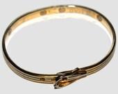 Belted at the Wrist -Vintage Bracelet