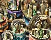 New York City Snowglobes 8x10 Color Fine Art Print