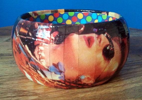 Boy George bangle bracelet