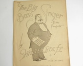 The Big Bass Singer Sheet Music for the Pianoforte, 1919