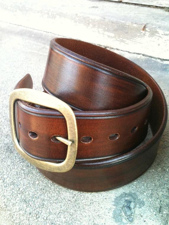 Chocolat Bohème Handcrafted Leather Belt